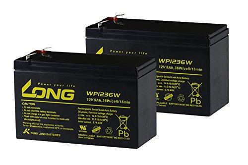12V8Ah UPS用バッテリー WP8-12 2個セット