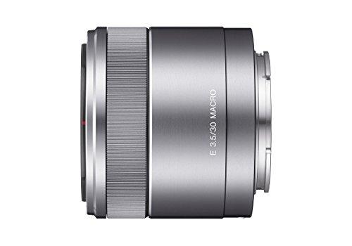 Sony SEL-30M35 Makro-Objektiv E-Mount silber