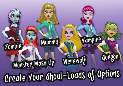 www.monster high spiele