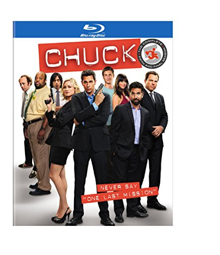 Chuck: The Complete Fifth Season [Blu-ray] DVD