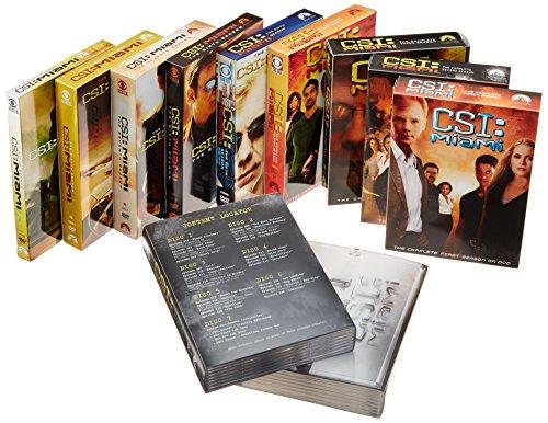 CSI: Miami - Seasons 1-9 DVD