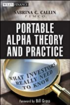 Portable Alpha Theory and Practice: What…
