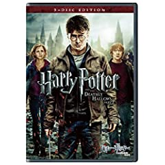 ハリー・ポッターと死の秘宝 PART2 DVD & ブルーレイ セット(3枚組)