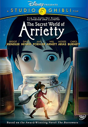The Secret World of Arrietty DVD
