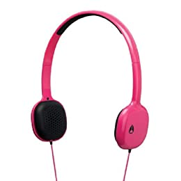 NIXON HEADPHONES: LOOP/MAGENTA NH022626-00