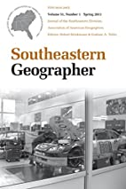 Southeastern Geographer: Spring 2004 Vol. 8…