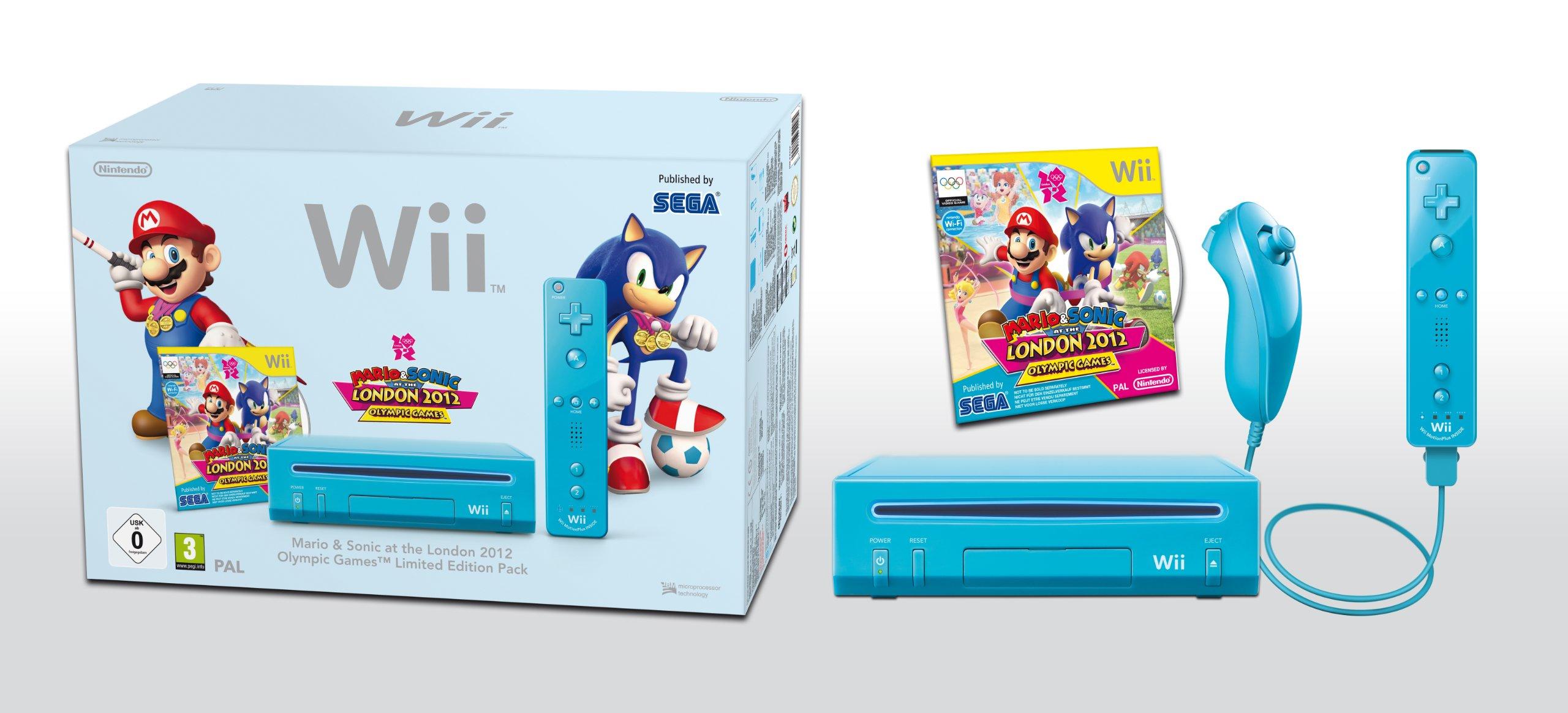 Inhalt der Mario und Sonic Limited Edition
