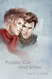 Puppy, Car, and Snow por Amy Lane