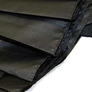 軽量カーボン骨折畳み傘 65cm 大判 無地 テフロン加工