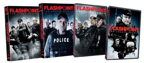 Flashpoint: Seasons 1-4 DVD