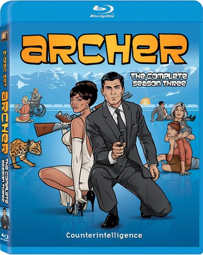 Archer: Season Three [Blu-ray] DVD
