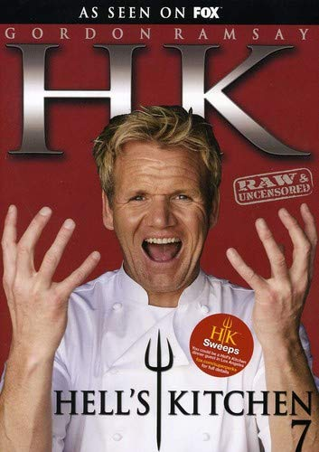 Hell's Kitchen Season 7 DVD