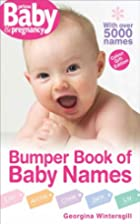 Bumper Book of Baby Names (Prima Baby)…