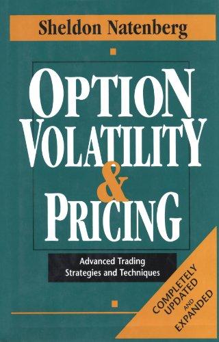 Option Volatility & Pricing - Sheldon Natenberg