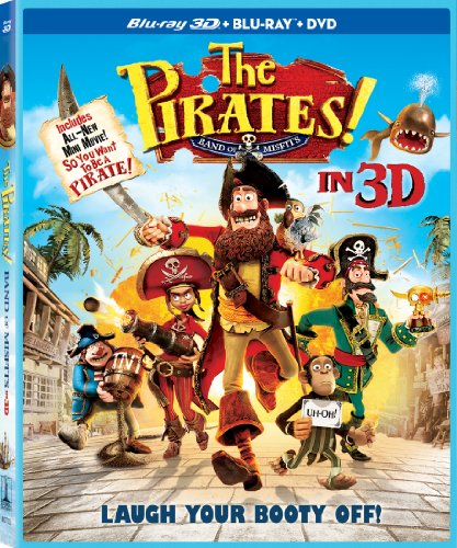 Get The Pirates! In An Adventure With Scientists On Blu-Ray