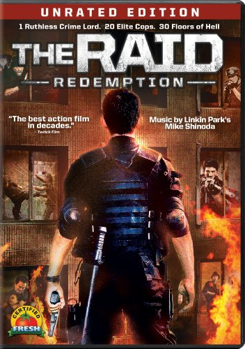 The Raid: Redemption DVD