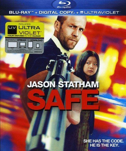Safe [Blu-ray + Digital Copy] DVD