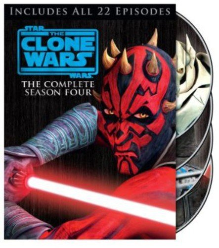 Star Wars: The Clone Wars - Season Four DVD