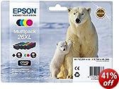 Epson Polar Bear 26XL High Capacity Multipack Ink Cartridges - Multi Coloured
