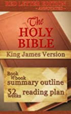 The Holy Bible - KJV Red Letter Edition…