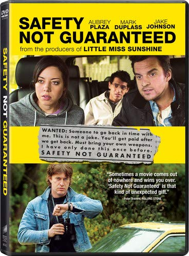 Safety Not Guaranteed DVD