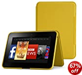 "Amazon Kindle Fire HD 8.9"" Standing Leather Cover, Honey Yellow  [will only fit Kindle Fire HD 8.9 (2nd Generation)]"