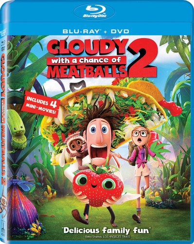 Get Cloudy With A Chance of Meatballs 2 On Blu-Ray