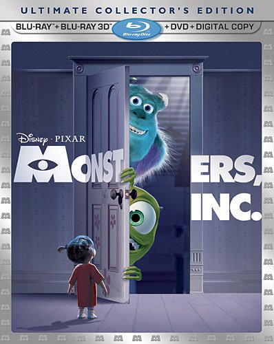 Get Monsters, Inc. On Blu-Ray