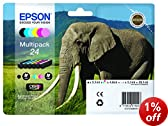Epson 24 Series Elephant Multipack Ink Cartridge
