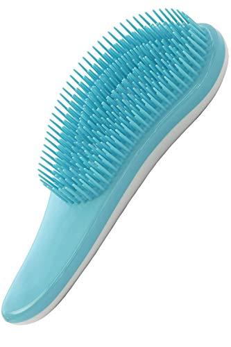 絡まない:1本1本にブラシ通りを滑らかにする加工を施し、髪のもつれや絡まりを解消します。