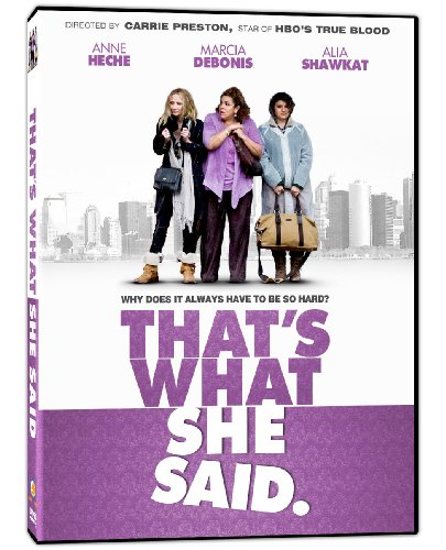 That's What She Said DVD