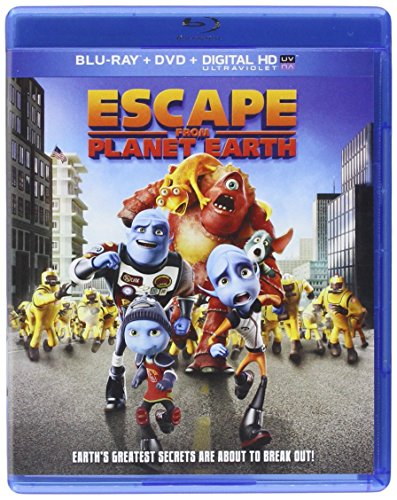 Escape From Planet Earth [Blu-ray] DVD