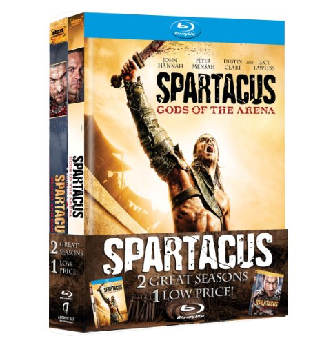 Spartacus: Blood and Sand / Gods of the Arena [Blu-ray] DVD