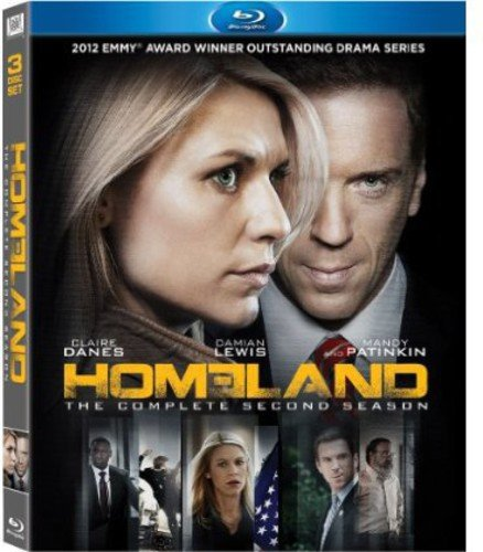 Homeland: The Complete Second Season [Blu-ray] DVD