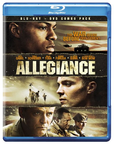 Allegiance BD/DVD Combo DVD