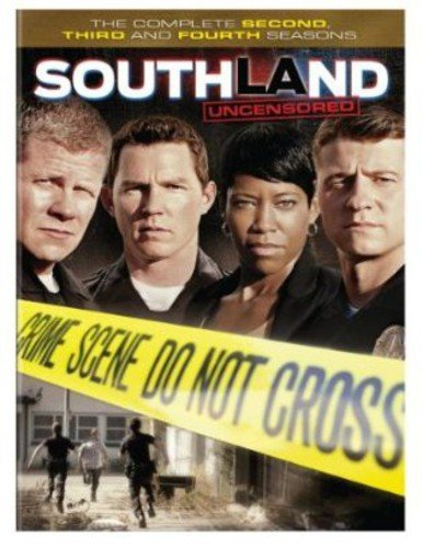 Southland: The Complete Second, Third and Fourth Seasons DVD