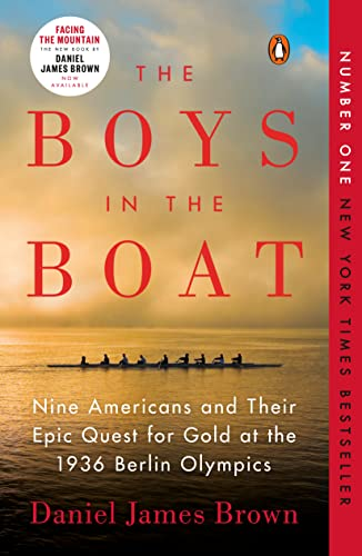 Book Cover - The Boys in the Boat