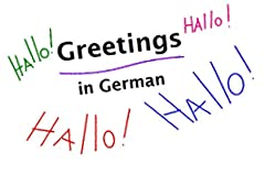 German Greetings And Goodbyes With English Translations