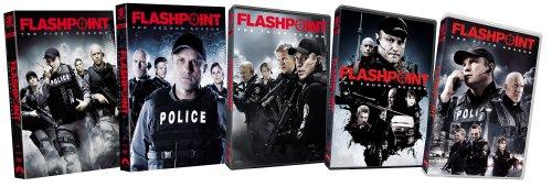 Flashpoint: Seasons 1-5 DVD