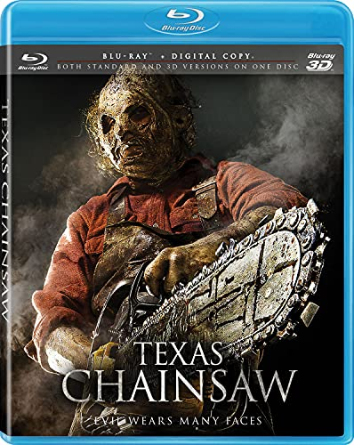 Texas Chainsaw [3D Blu-ray + Blu-ray + Digital Copy + UltraViolet] DVD