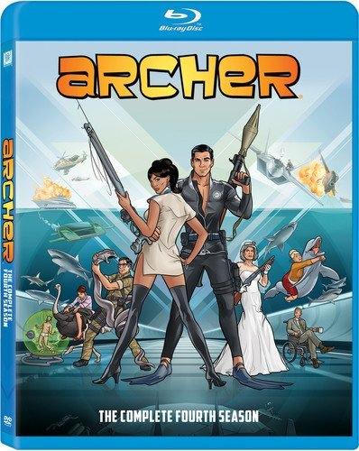 Archer: The Complete Season Four [Blu-ray] DVD