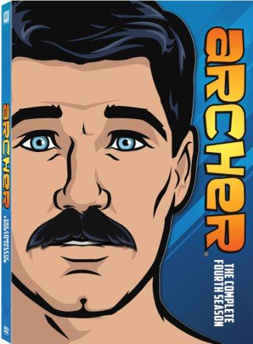 Archer: The Complete Season Four DVD