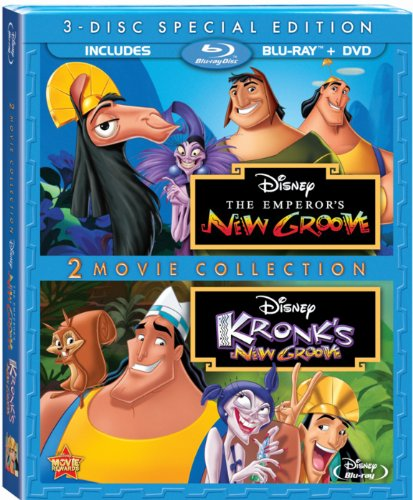 Get The Emperor's New Groove On Blu-Ray