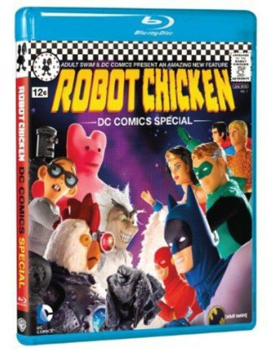 Robot Chicken: Dc Special [Blu-ray] DVD