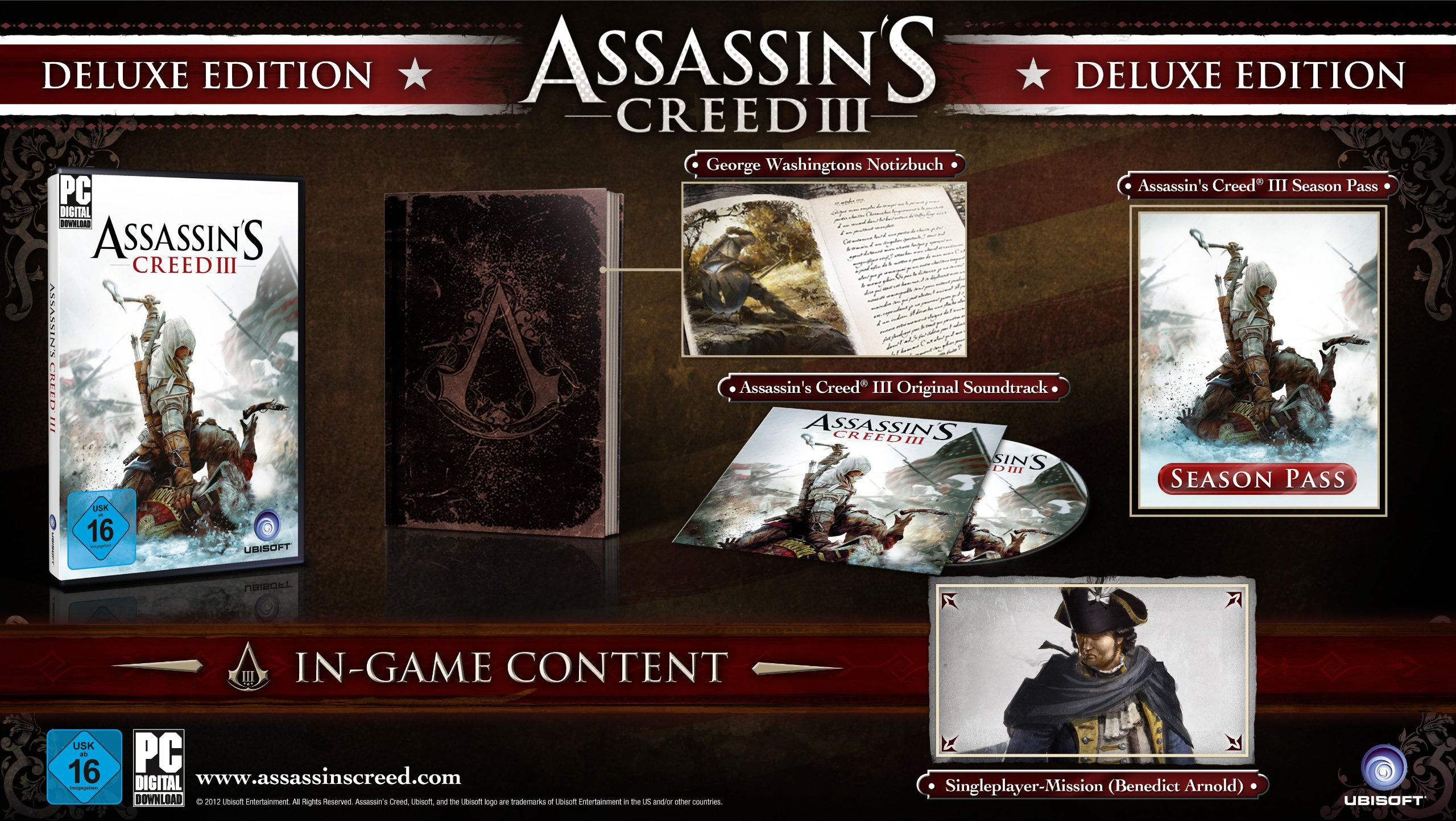 Assassin's creed 3 pc deluxe edition steam pre-order is it worth.