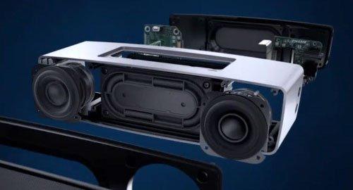 2倍の空気量を動かすトランスデューサーで、パワフルなサウンド