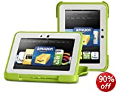 "Protective Childproof Outdoor Kindle Cover by Otterbox for Kindle Fire HD 7"", Green/Apple [will only fit Kindle Fire HD 7"" (2nd Generation)]"
