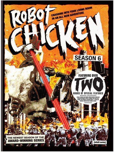 Robot Chicken: Season Six DVD
