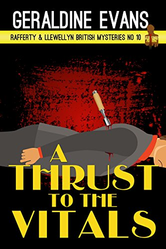 Book Cover - A Thrust to the Vitals