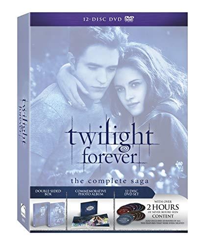 Twilight Forever: The Complete Saga Box Set [DVD + Digital Copy + UltraViolet] DVD